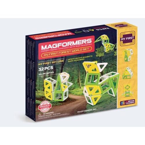 Image of   Magformers First Forest Sæt 32 dele
