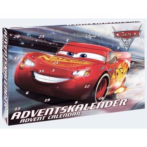 Image of Disney Cars 3, Biler 3 Julekalender 2017 Craze
