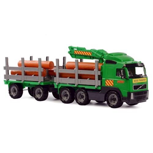Image of Volvo Lastbil med tømmer (4810344008725)
