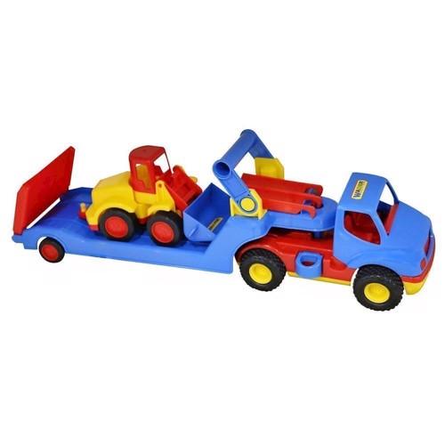 Image of   Wader lastbil og gravemaskine
