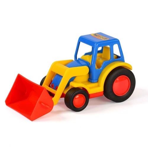 Image of Traktor med frontlæsser