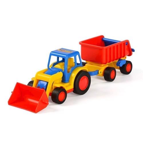 Image of   Wader Basics Traktor med trailer