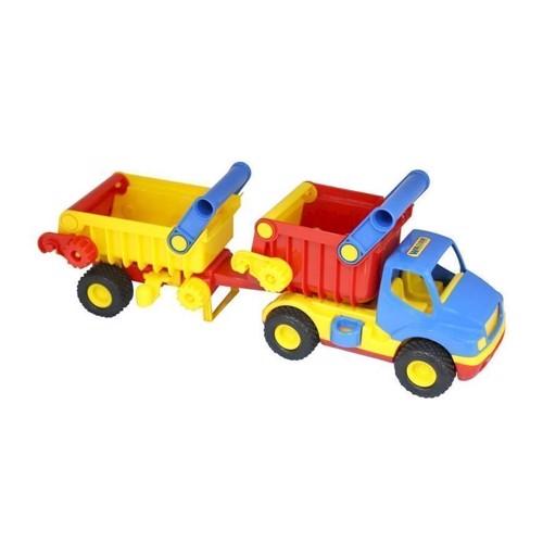 Image of   Wader lastbil med trailer