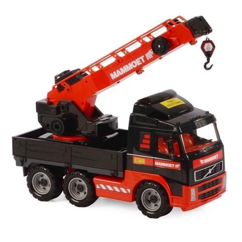 Image of Mammoet lastbil med kran (4810344057099)