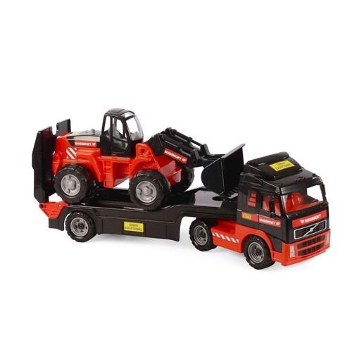 Image of Mammoet lastbil med gravko (4810344057105)