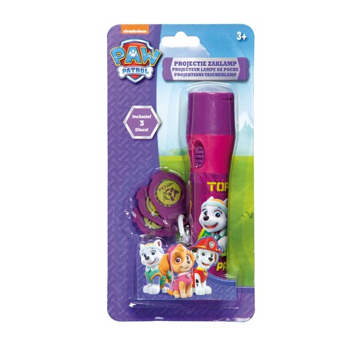 Image of   Paw Patrol LED Lommelygte - Pink
