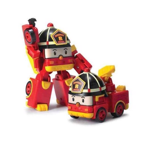 Image of Robocar Poli Transforming Robot-Roy