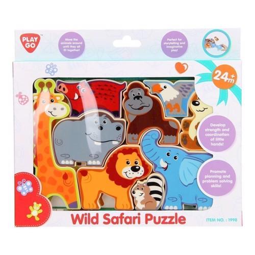 Image of PlayGo Puzzle Safari