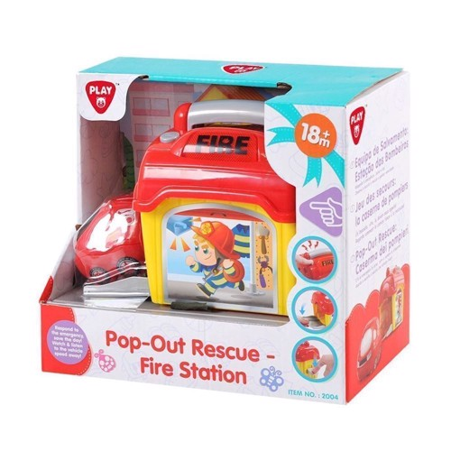 Image of   PlayGo Pop out Rescue Center Fire