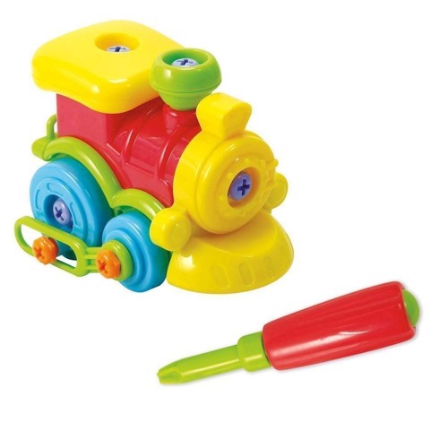 Image of   PlayGo Construction Set - Train