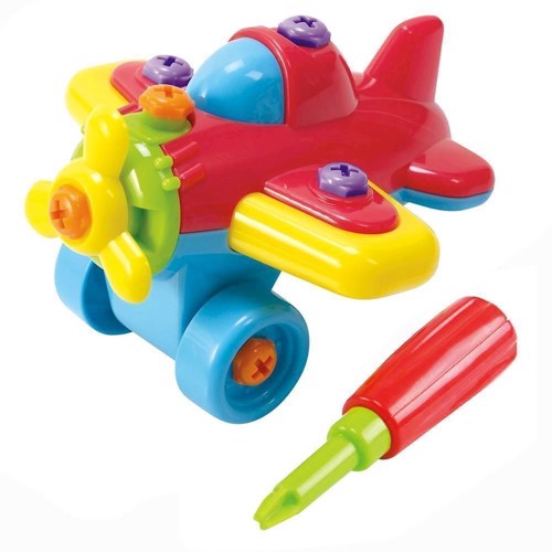 Image of   PlayGo Construction Set - Airplane