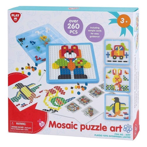 Image of   PlayGo Mosaic Puzzle, 260dlg.