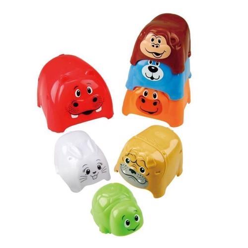Image of   PlayGo Stacking Blocks Animal, 7dlg.