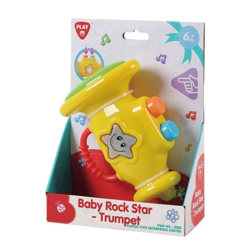 Image of   PlayGo Baby Rockstar Trumpet