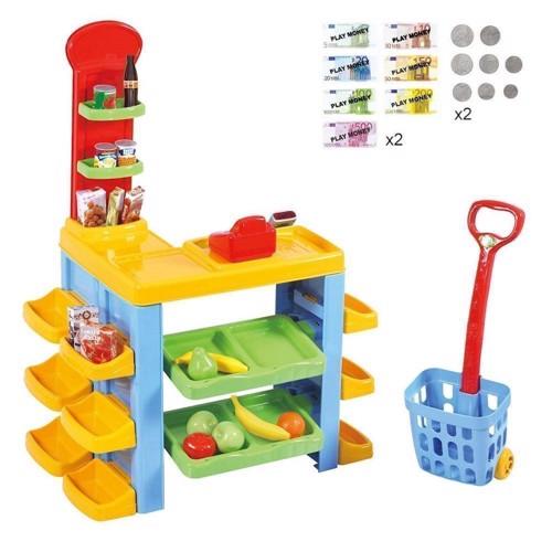 Image of Playgo Supermarket Trolley &Set (4892401032461)