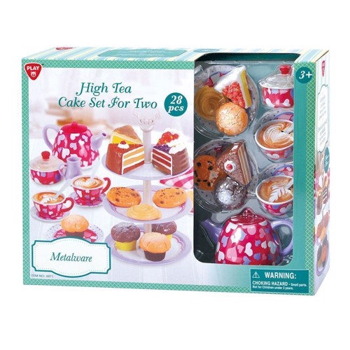 Image of   PlayGo Cakeset High Tea for Two, 28dlg.