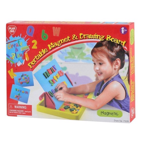 Image of   PlayGo magnetic drawing board