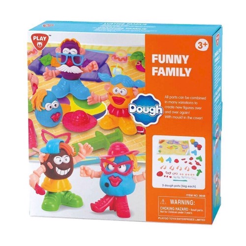 Image of   PlayGo Kleiset Funny Family