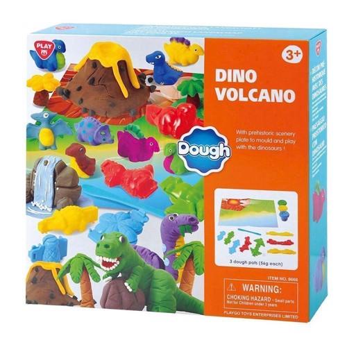 Image of   PlayGo Kleiset Dino Volcano