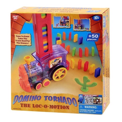 Image of   PlayGo Domino Tornado Train, 50dlg.