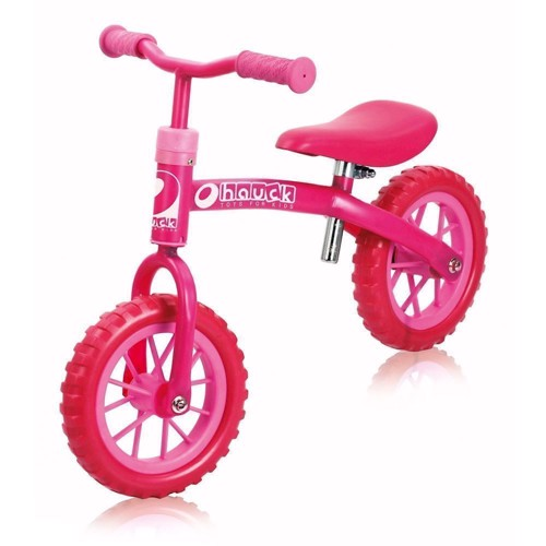 Image of Hauck Gåcykel/Balancecykel Ez Rider 10 Bubble Pink