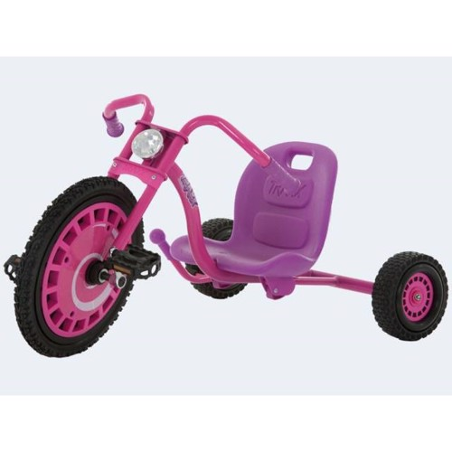 Image of   Hauck Tricycle / Trehjulet Cykel Typhoon Pink / Lilla