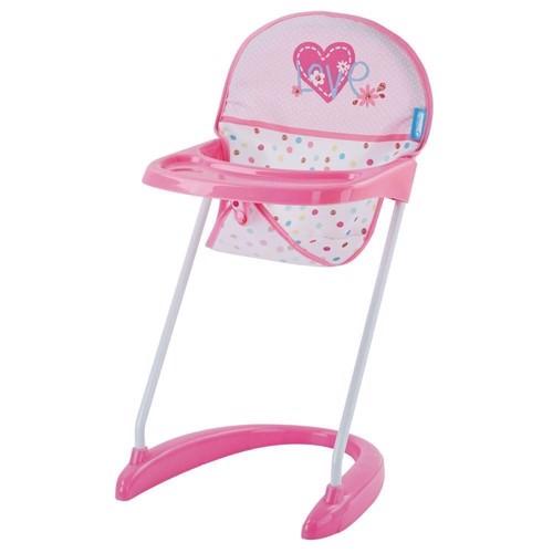 Image of   Dukkehøjstol, lyserød