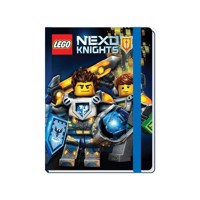 LEGO NEXO Knights book with ribbon