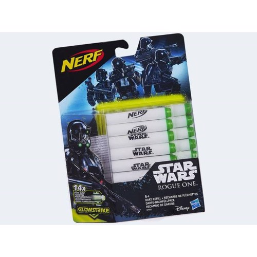 Image of   Nerf, Star Wars Rogue One, Glow in the Dark skumpile, 14 stk