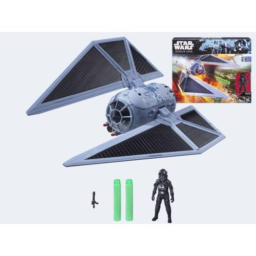 Image of   Star Wars, Rogue One Class D Fartøj, Tie Fighter