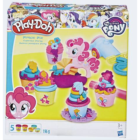 Image of   Play Doh My Little Pony Pinkie Pies Cupcake Party