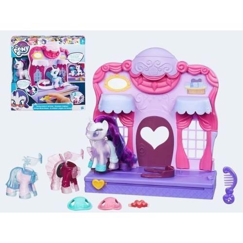 Image of My little Pony Raritys modeshow (5010993329175)