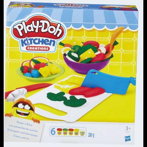 Image of Play Doh modellervoks madlavning (5010993331833)