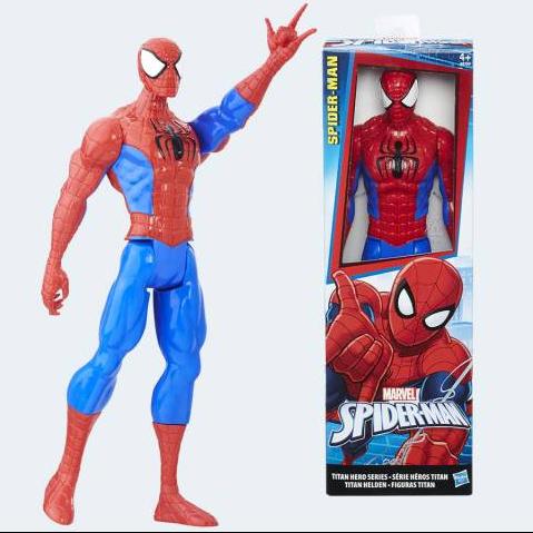 Image of Spiderman Titan Hero Figur (5010993334575)