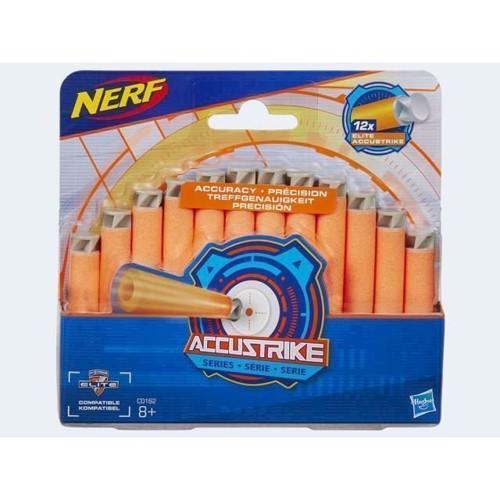 Image of   Nerf ACCU Strike refill pakke med 12 skud
