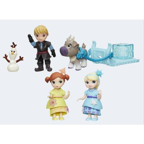 Image of   Disney, Frozen/Frost - Little Kingdom Figurer