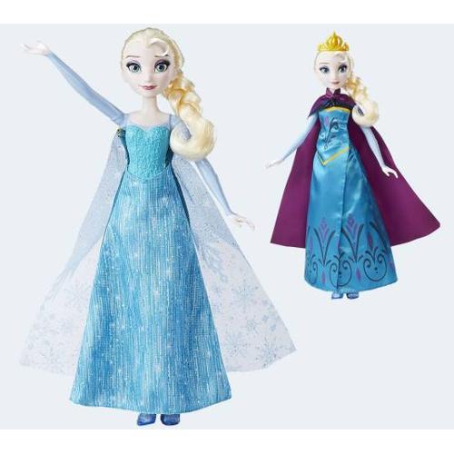 Image of   Disney Frozen dukke Elsas magiske forvandling
