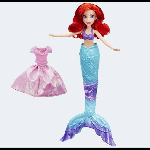Image of Disney Prinsesse Ariel som havfrue eller menneske (5010993345045)