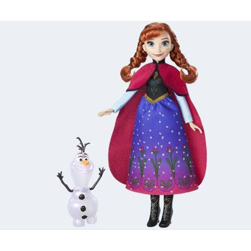 Image of   Disney, Frozen/Frost - dukke Anna med Olaf