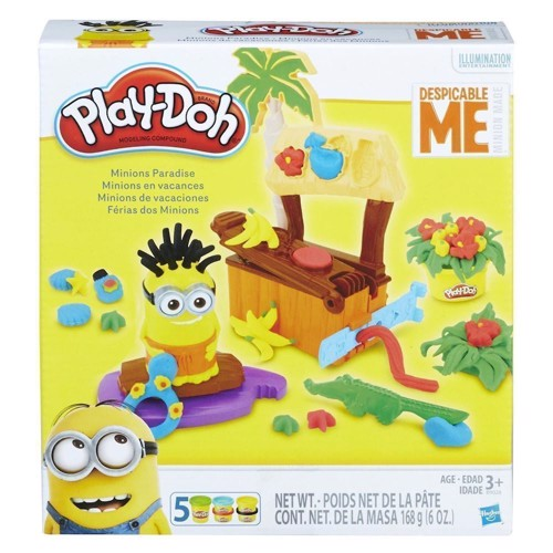 Image of Play-Doh Minions Paradise (5010993355716)