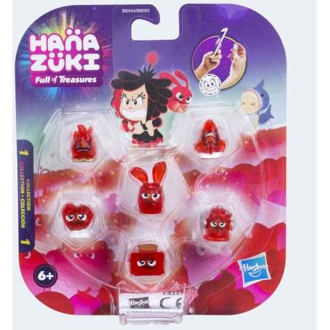 Image of   Hanazuki samlefigurer 6 Pack