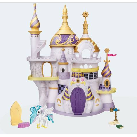 "Image of My little Pony "" Friendship is magic ""slot - Canterlot (5010993365517)"