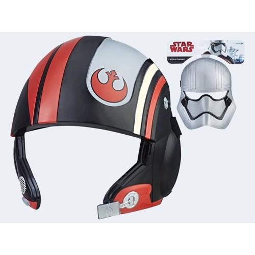 Image of   Star Wars E8 Maske, pris er pr. stk.