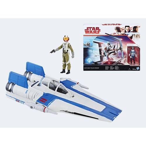 Image of   Star Wars E8 rumskib med figur Forcelink, pris er pr. stk.