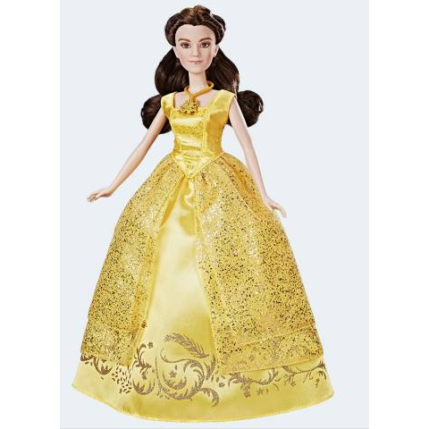 Image of   Disney prinsesse syngende Belle fra skønheden og udyret