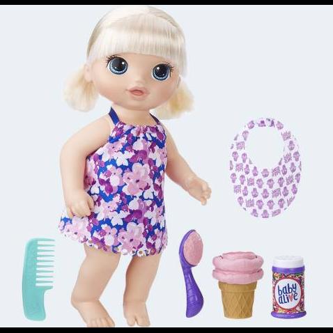 Image of Baby Alive, dukke med is (5010993380282)