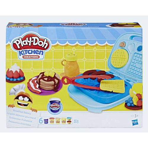 Image of PlayDoh gourmet morgenmad (5010993390304)