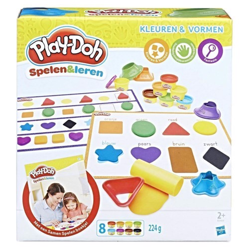 Image of Hasbro -Play-Doh Colors and Shapes (5010993408092)