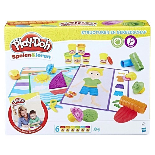 Image of Play-Doh molds and tools (5010993408191)