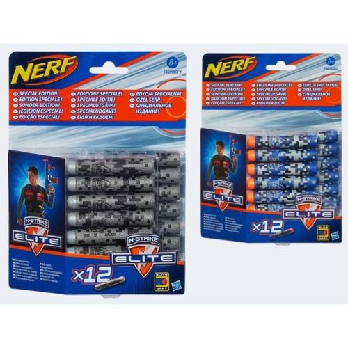 Image of   Nerf N_Strike Elite deko refill pakke med 12 skud